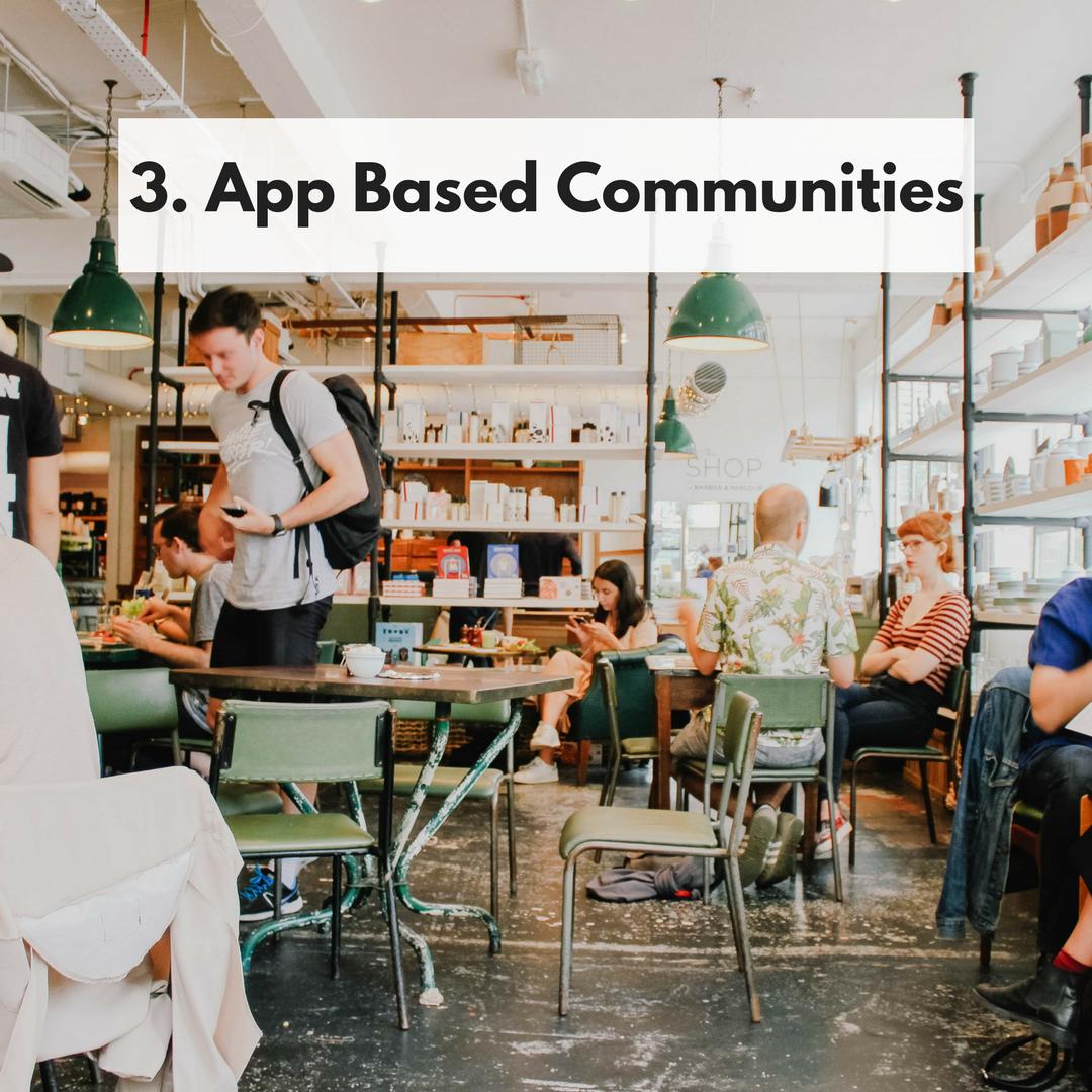 App Based Communities