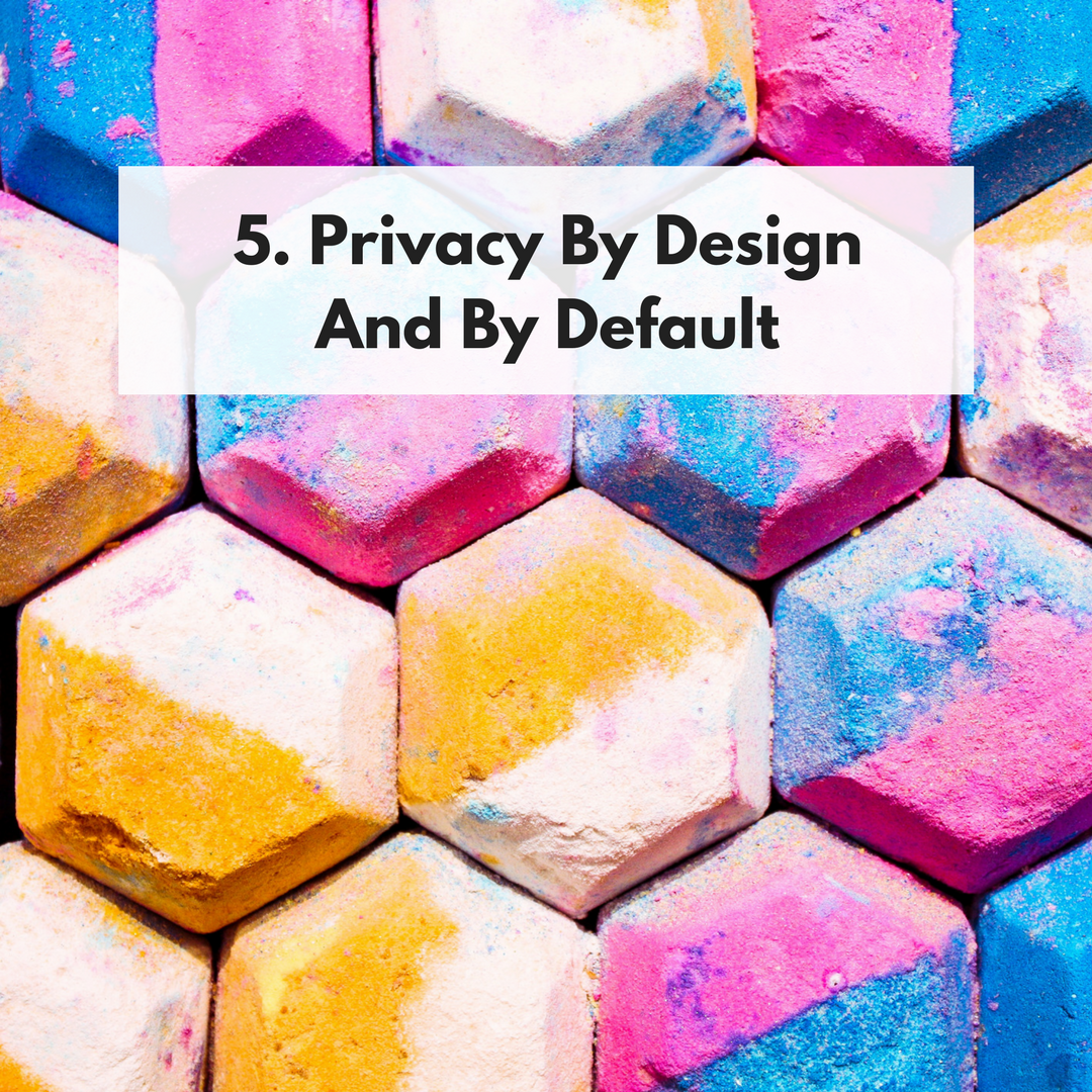 Privacy by Design and by Default